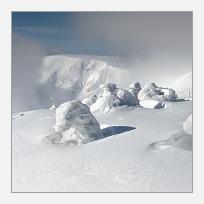 Krkonošská zima