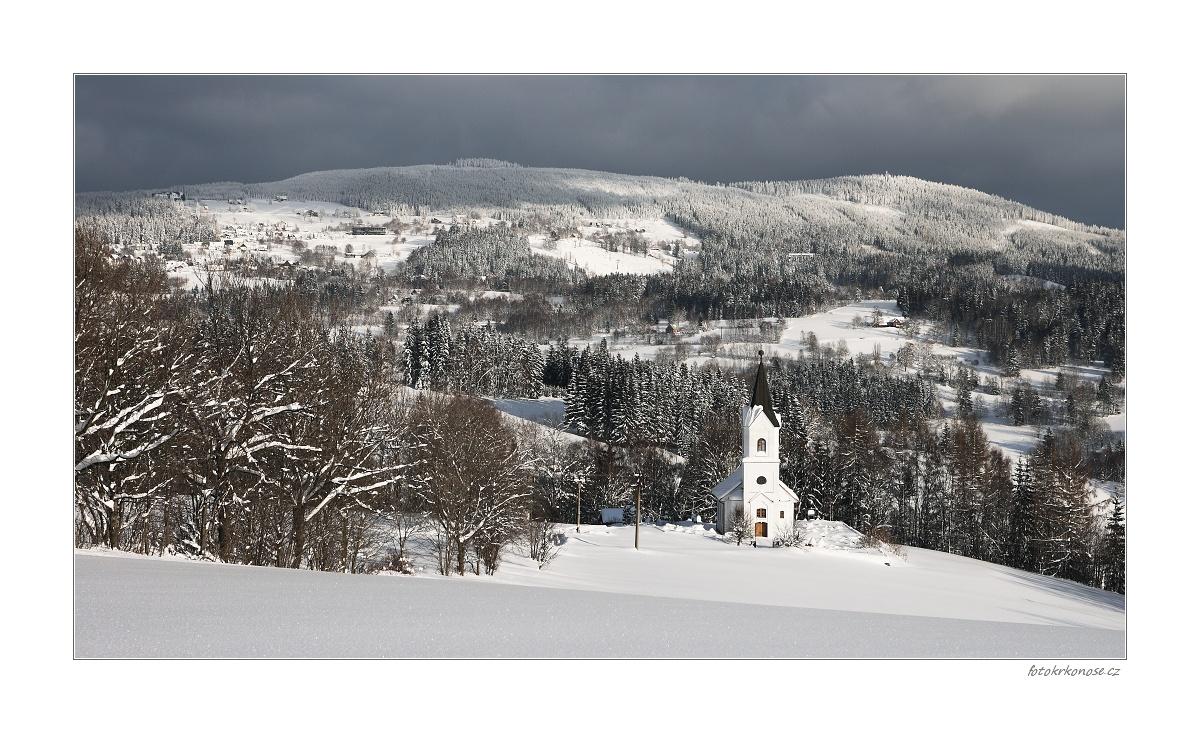 Zima v Křížlicích