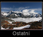 Alpy, Tatry atd